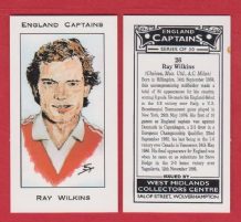 England Ray Wilkins Manchester United 26